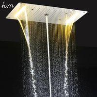rain type shower head. Chrome HM EBDP020 1 Rainfall Shower Heads hm 9 Function Led Head  Light Overhead Rain Price Comparison Buy Cheapest