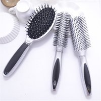 Wholesale Brush Hairdresser - 3Pcs Set Combs Airbag Brushes Hair Care & Style Barber Hairdresser Salon Hair Styling Brushes Massage Combs