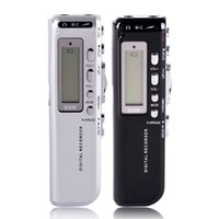 Wholesale Voice Recorder Professional - Wholesale-New Arrival Mini Voice Activated Digital Audio Voice Recorder 8GB Professional Recording Pen 125600 Minutes
