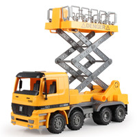 Wholesale Best Model Cars - Street lights maintenance car Children's inertial truck the simulation engineering toys the best gift for children No.9998-19