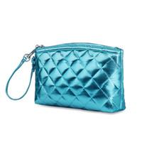 lindas bolsas de maquillaje cosmético al por mayor-New Super cute Cosmetic Bag Mini Mujer Bolsa de maquillaje Bolsas de viaje portátiles Crossbody