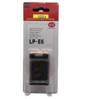 Wholesale Eos 5d Mark - Best Camera Battery Pack LP-E6 For Canon EOS 5D2 5D3 5D 7D 6D 40D 50D 70D 60D 600D Mark II III 2 3 batteries UPS Shipping With Logo New