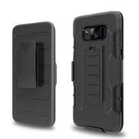 Wholesale iphone 5s holster cases resale online - Future Armor Rugged Defender Holster Belt Clip Protection Hybrid Kickstand Case for iphone plus S S Galaxy S8 plus S7 edge
