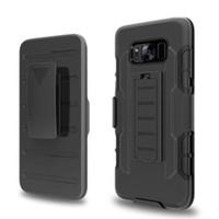 iphone 5s kemer klipsi toptan satış-Gelecek Zırh Sağlam Defender Kılıf Kemer Klipsi Koruma Hibrid Kickstand Kılıf iphone 7 artı 6 6 S 5 S Galaxy S8 artı S7 kenar