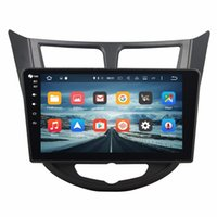"""Wholesale Phone Charger For India - Octa Core 2 din 10.1"""" Android 6.0 Car Audio DVD GPS for Hyundai Verna Accent Solaris With 2GB RAM Radio Bluetooth WIFI 32GB Car DVD Player"""