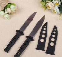 Wholesale Wholesale Camping Hunting China - 17 years of the new small black set made in China cheap fruit knife knife self-defense necessary affordable home welcome the choose and buy