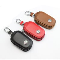Wholesale Case Da - 1pcs Car key wallet case bag holder accessories DA logo for Alfa Romeo MiTo Giulietta Giulia TZ3 4C 159 166 156 147 Gt Q2