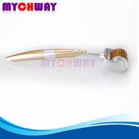 Wholesale Micro Needling Devices - Brand New Painless ZGTS Titanium 192 Needle Micro Needle Derma Roller Beauty Device For Acne Removal Facial Salon