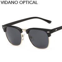 Wholesale Designer Frames For Sale - Vidano Optical Hot Sale Designer Brand Sunglasses For Men & Women Sun Glasses Outdoor Semi Rimless Retro Sunglass Gafas de sol UV400