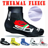 дорожные чехлы для обуви оптовых-2017 Зимний флис Thermal SIDI Lock обувь обложка Велосипед Велоспорт Overshoes Pro Road Racing MTB Велосипед Велоспорт Обувь Обложка Спортивная обувь Обложка