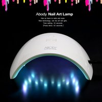 Wholesale Uv Paint Curing - Abody LED UV Lamp Nail Gel Dryer Curing White Light Nail Art Tool for Nail Painting Salon W2695