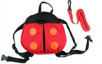 Wholesale Safety Harness Toddler Bat - Baby Kid Keeper Safety Harness Toddler Walking Safety Harness Anti-lost Backpack Leash Bag Strap Rein Bat Ladybug Bag