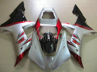 Hot sale plastic fairing kit for Yamaha YZF R1 02 03 white red black fairings set YZF R1 2002 2003 OI13