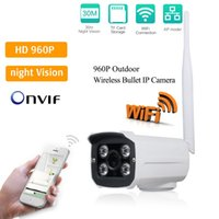 Wholesale Waterproof Infrared Video Camera - LS-SC4 Waterproof Outdoor Wifi IP Camera 960P HD Mini Bullet Camera with IR Night vision Home Security Video Surveillance Camera ANN