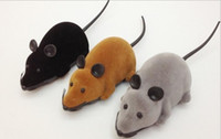 Wholesale Electronic Ear - Mouse Cat Toy Remote Control Electronic Wireless Rat Mouse Cat Pet Supplies Gift Funny Toy Mourse Ears Random 3 Colors