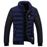 Wholesale Thick Down Clothes - Wholesale- Men Down Parkas Winter jacket 2016 New arrival MEN'S padded parka coats coat down-jacket parkas men Clothing Casual Coat 70