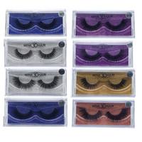 Wholesale Cheap Natural Eyelashes - Hot sale cheap price real mink fur material mink hair eyelash strips 3D mink lashes false eyelashes