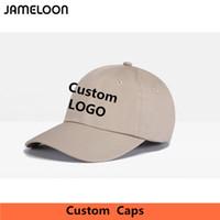 Wholesale Personalized Cap Hat - Zefit Wholesale 10PCS LOT Personalized Snapback Cap Custom Baseball Hat trucker cap Adult Children size Embroidery Logo Text