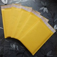Wholesale Mail Supplies - Kraft Paper Mail Envelope Bag PE Bubble Padded Envelopes Packing Bags Shipping Supplies 9*13cm 11*15cm 12*16cm 13*13cm Free Shipping 0474WH