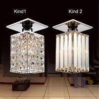 warm geführtes kronleuchter großhandel-Neuankömmling ! Moderne quadratische LED K9 Kristallleuchterlampe, warmweiß / weiß, Guaranteed100% Power Home Lampen