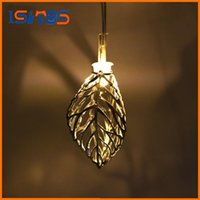 Wholesale Mini Battery Switch - 1.65M Mini 10 led Leaf String Lights Battery Christmas Lights New Year Party Wedding Home Decoration Fairy Lights