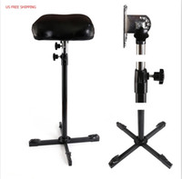 Wholesale Tattoo Supply Frames - US Free Shipping New Heavy Duty Iron Tattoo Arm Rest Leg Rest Full Adjustable Hand Holder Frame Tattoo Supply Accesorries TA211