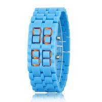 Wholesale Cheap Led Ribbon - 2017 Wholesale CURREN fashion cheap men watch \ Stainless Calendar Watch Date Sports Bracelet Digital Wrist Watch as Gift