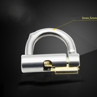 Wholesale International Sounds - Genuine PA lock, titanium, gold, puncture, PA600, chastity, international, CB6000, chastity locks, accessories, adult products
