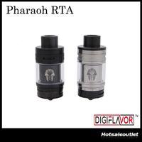 Wholesale Derlin Drip Tips - Authentic Digiflavor Pharaoh RTA 4.6ml BAF Top Angled Airflow System Interchangeable Decks Derlin Drip Tip Atomizer by Rip Trippers