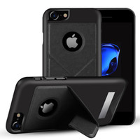 Wholesale Iphone Leather Smart Wallet - For iphone 8 8plus Case Multi-function Transformer Fold Smart Hybrid Shockproof Kickstand Cover For iphone 6 7 Plus