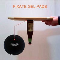 Wholesale Dashboard Sticky Mobile - 100 Sets Fixate Gel Pads Strong Sticky Anti Slip Mat Non Slip Car Dashboard Wall Sticker Powerful Silica Magic Car Mobile Phone Holder