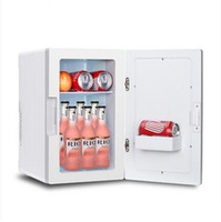 Wholesale New Portable Mini L Vehicle Mounted Refrigerator Heated And Cooler Box Dual use Home Car Fridge