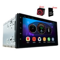 Wholesale 7 inch Quad Core Android Car GPS Navigation Universal Head unit Multimedia Player Radio Bluetooth Wifi DVR Ready