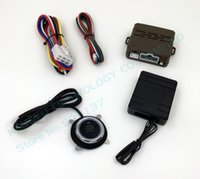 Wholesale Buttons Alarm Systems - new start stop engine system push button keyless go system start-stop button car alarm remote engine start button FS-50,chip