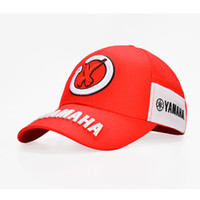 Wholesale New Black Red F1 Racing Cap Car Motocycle Racing Moto Gp Vr Rossi Embroidery Hiphop Cotton Trucker Yamaha Baseball Cap Hat