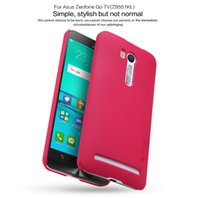 Wholesale Fit Tv Screen - Asus Zenfone Go TV ZB551KL case NILLKIN Super Frosted Shield hard back cover with free screen protector and Retail package