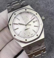 Wholesale Sapphire Royal - Super JF Factory V3 Mens Automatic Miyota 9105 Clone Cal.3120 Date Watch Men Full Steel Royal Waterproof Watches 15400 Luminous Wristwatches