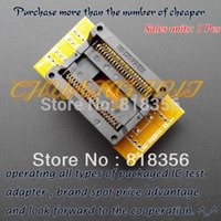 Wholesale test socket adapter resale online - Freeshipping SOP44 to DIP40 programmer adapter PSOP44 SOP44 SOIC44 test socket SDP UNIV PS programmer adapter