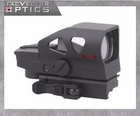 Wholesale Red Dot Sight Multi - Vector Optics Ratchet GEN II 1x23x34 Multi Reticle Green Red Dot Sight with QD 20mm Weaver Mount For Dear Hunting