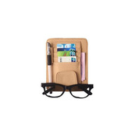 Wholesale Leather Car Visor Organizer - Auto Car Sun Visor Organizer Pouch Bag Card Storage Glasses Holder Multi-Purpose Storage Bag Car Organizer Car Styling