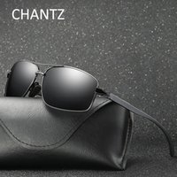Wholesale aluminium frame - Vintage Mens Aluminium Magnesium Polarized Sunglasses 2017 Fashion Brand Driving Sun Glasses for Women Shades UV400 Gafas De Sol