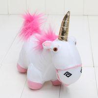 Wholesale Pink Unicorn Plush - 20cm Fluffy plush toys Character Unicorn Soft Stuffed Plush Doll pink unicorn for children gift