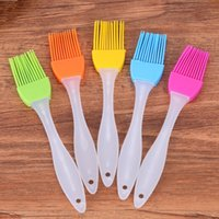 Wholesale high temperature silicone oil for sale - Group buy 0 mh Eco Friendly Silicone Brush BBC Milk Oil Brushes High Temperature Resistance Practical Silica Gel Sweep Durable Baking Tools R