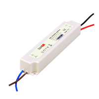 12 вт источник питания 12 в оптовых-SANPU водонепроницаемый источник питания 12V 24V 12W 20W AC / DC освещения трансформатор светодиодный драйвер IP67 пластик для светодиодов полосы света