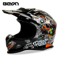 Wholesale Helmet Mx - BEON mx-16 motocross helmet atv off road racing helmets cross bike motorcycle helmet ECE approved capacete casco moto motoqueiro