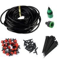 Wholesale drip hoses for sale - New m m m DIY Drip Irrigation System Automatic Plant Self Watering Garden Hose Micro Drip Garden Watering System