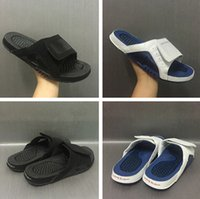 Wholesale French Mens Fashion - HYDRO xii french blue OVO mens Slippers with originals Box size 40-46 wholesale price free drop ship