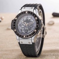 Wholesale Ladies Large Dial Watch - New fallow concise style High-quality business affairs Silica gel ladies Fashion Wristwatches calendar quartz Large dial men's Watches