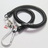Wholesale SAMS Fishing pc SIZES Lobster Clasp Spring Stretchy Coil Cord Strap Keychain Key Chain Lanyard
