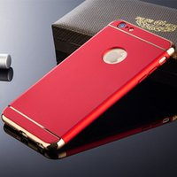Wholesale Case Epacket - Luxury Ultra Thin Shockproof Cover Coque Phone Case for iPhone7 Plus 360 Full Body Coverage Phone Cases. Freeshipment Via Epacket